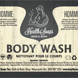 Homme Body Wash 250ml